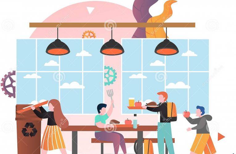 Servicio cafetería Azuer durante nivel III