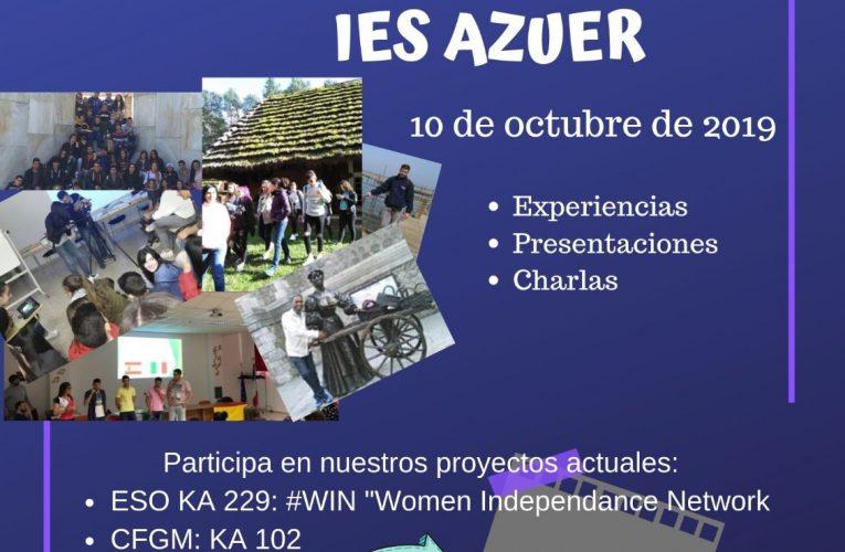 El alumnado del IES AZUER continúa su andadura europea de la mano del programa Erasmus+