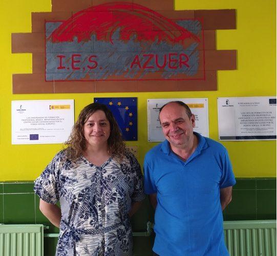 Dos profesores del IES Azuer galardonados en los reconocimientos ACIERTAS 2021
