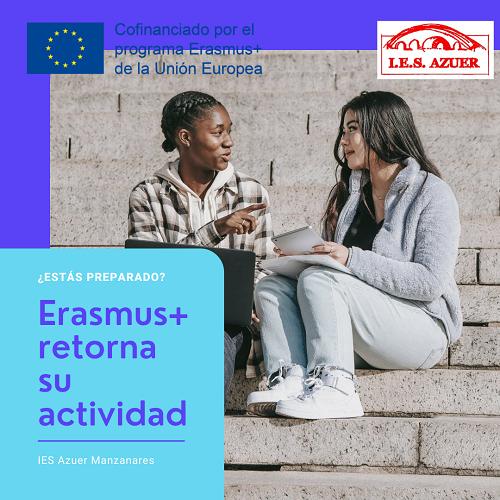 Erasmus+ retoma su actividad